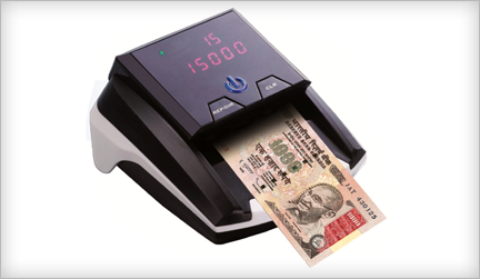 Maxsell-Truscan-Fully-Automatic-Rupee-Detector